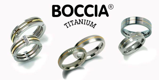 Boccia relatieringen ringen voor hem en haar