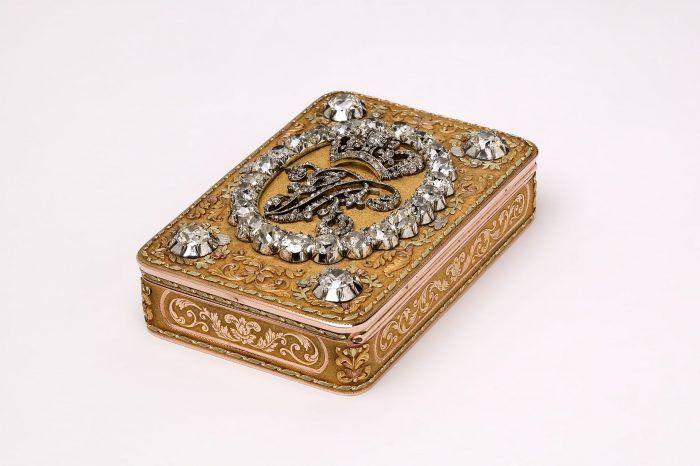 Gouden presentatiesnuifdoos Koning Victoria Blog Zilver.nl