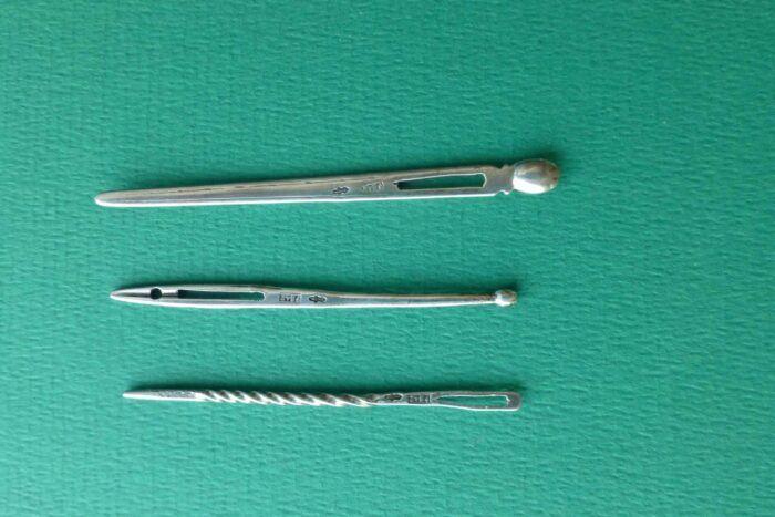Antieke zilveren naalden van Johannes van Somerwil 2 Blog Zilver.nl