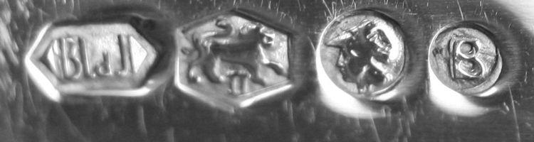 Lopende leeuw met een Romeinse II gebruikt voor 2e gehalte zilver van 1953 tot heden.