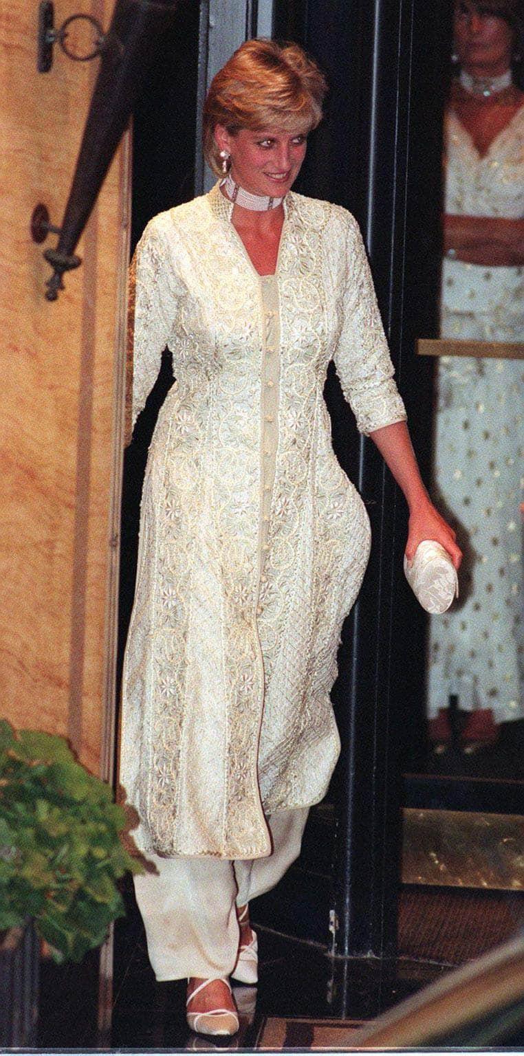 Lady Diana met een collier-du-chien dogg-collar Blog Zilver.nl