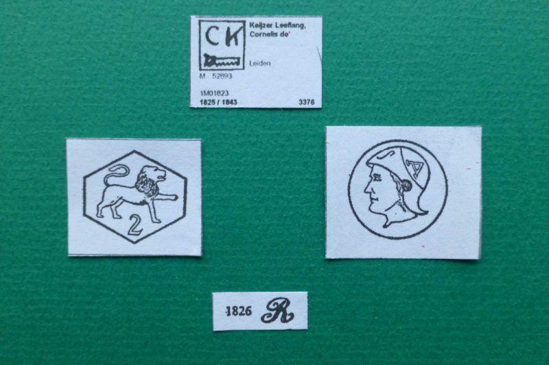 Zilverkeuren en zilvermerken uit Leiden in Blog Zilver.nl