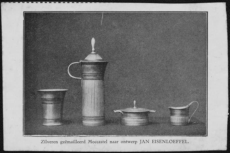 Servies van Jan Eisenloefel