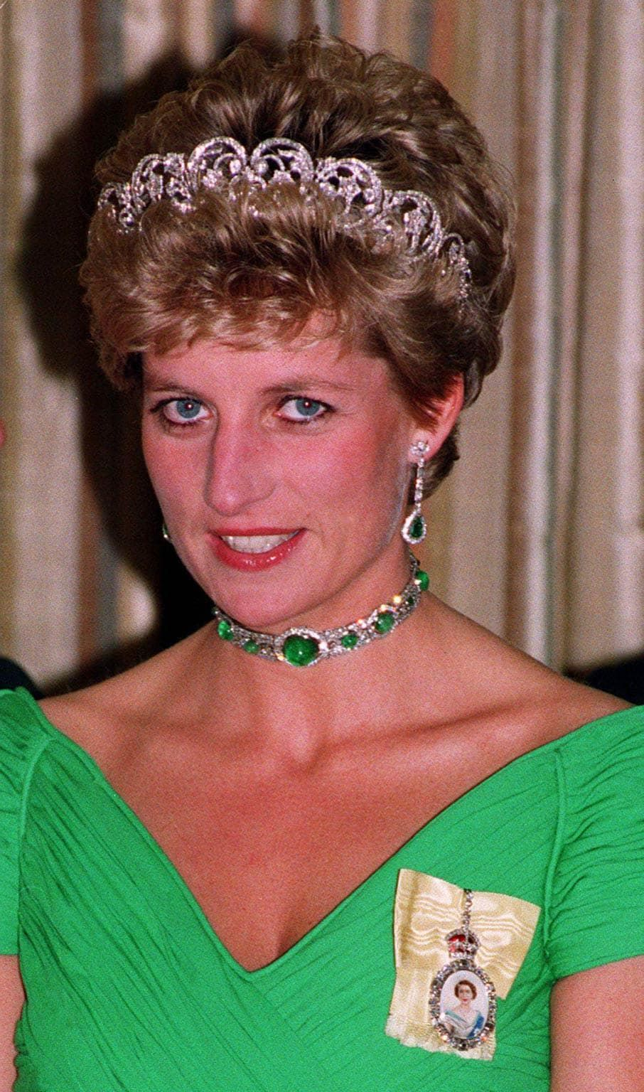 Prinses Diana met een collier-de-chien Blog Zilver.nl