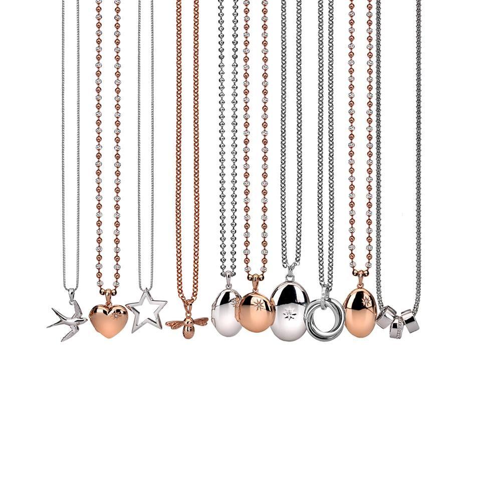 Hot Diamonds colliers